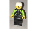 Cyclist - Lime and Black Jacket, n/a (cty0658)