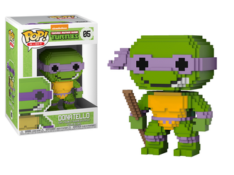 Фигурка Funko POP! Vinyl: TMNT: 8-Bit Donatello