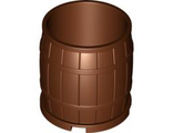 Container, Barrel 4 x 4 x 3.5, Reddish Brown (30139 / 4566703)
