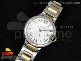 Cartier Ballon Bleu 42mm Two Tone
