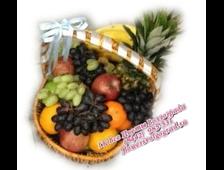 Большая подарочная корзина с фруктами Презенталь