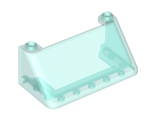 Windscreen 3 x 6 x 2, Trans-Light Blue (92583 / 4599455)