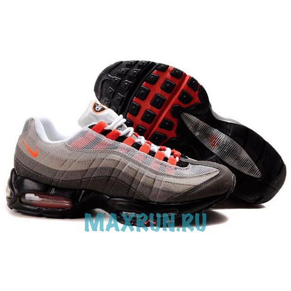 51b42394 Кроссовки Nike Air Max 95 мужские черно-красные