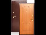 Металлическая дверь ДА-2 ЭТЮД Клен Медовый