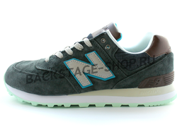 Мужские кроссовки New Balance 574 Gray/Brown