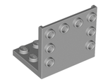 Bracket 3 x 4 - 3 x 4, Light Bluish Gray (98287 / 4646525)