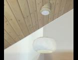 Накладки для установки светильников и люстр на скошенный потолок