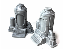 Cryogenic tanks (unpainted)