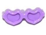 Friends Accessories Glasses, Heart Shaped with Pin, Medium Lavender (93080k / 6097073)