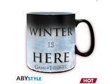 Кружка ABYstyle: Game of Thrones: Winter is here (HC)