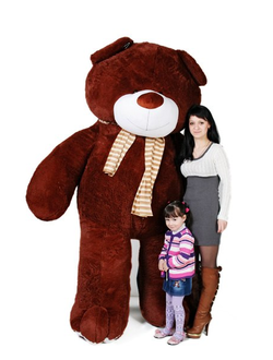 Большой бурый медведь Цезарь (220 см)
