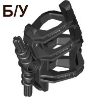 ! Б/У - Bionicle Zamor Sphere Holder, Black (53550 / 4292482 / 6024109) - Б/У