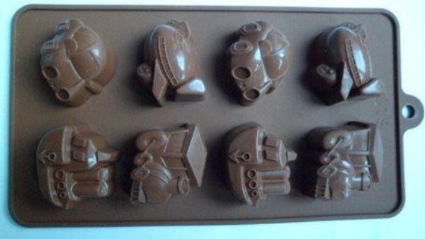 Силиконовые формы для шоколада своими руками 57