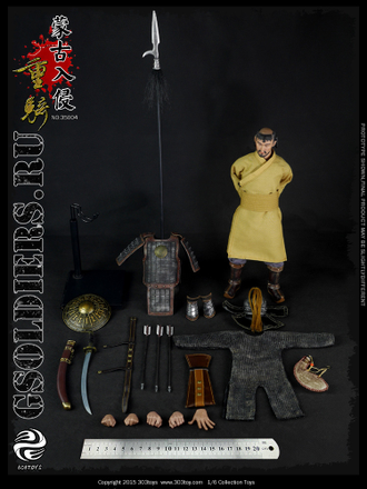 Купить коллекционную фигурку монгольского тяжелого кавалериста Mongol Invasion-Heavy Cavalry 303Toys