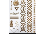 Временные тату (Flash Tattoos)(№372)