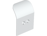Door 2 x 4 x 6 Curved Aircraft, White (54097 / 4284008 / 4582680 / 6109975)