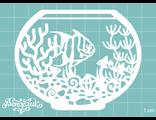 Акваріум з рибкою
