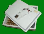 Инкубатор ИБ2НБ-3-2Ц (104 яйца, механический поворот яиц, 220/12 В, цифровой терморегулятор, решётка для куриных яиц в комплекте)