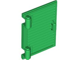 Shutter for Window 1 x 2 x 3 with Hinges and Handle, Green (60800a / 4552353)