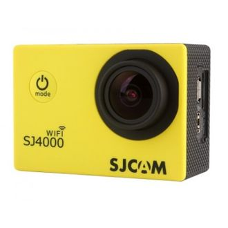 Экшн-камера SJCAM SJ4000 Sports HD DV WiFi жёлтая