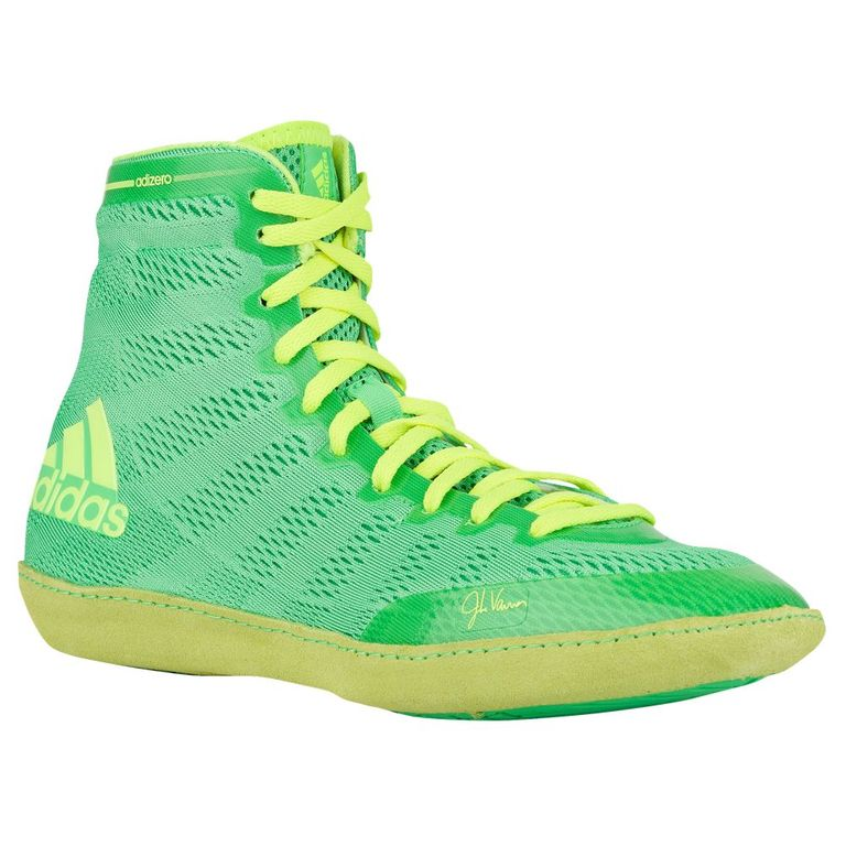 ce9c5c5cd38e3d Борцовки Боксерки Adidas Adizero Varner X Green Зеленые