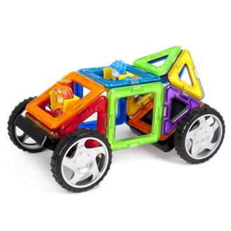 Магнитный конструктор MAGFORMERS 770001 Fixie Wow set (копия)