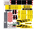 Sticker Sheet for Set 42108 -  65625/6283772 , n/a (42108stk01)