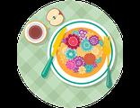 Купить ПОДАРОЧНЫЙ СЕРТИФИКАТ (индивидуальный билет) на участие в 1 мастер-классе по цветочной кулинарии