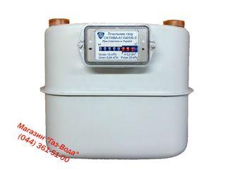 Счетчик газа G-4/G-6 Октава A-1 мембранный