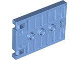 Door 1 x 5 x 3 with 3 Studs and Handle, Medium Blue (93096 / 6147321)