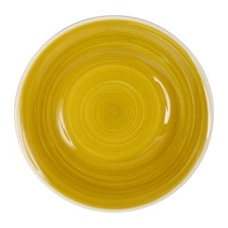 Тарелка для супа KETYLDA MUSTARD YELLOW D23.5CM EARTHENW 33490