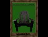 """Кресло для отдыха Adirondack - модель """" ЦАРСКОЕ"""", массив сосны."""