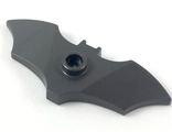 Minifigure, Weapon Batarang, Wide with Stud on Front, Pearl Dark Gray (37720e)