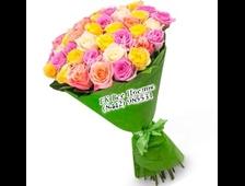 21 роза букет Чаровница
