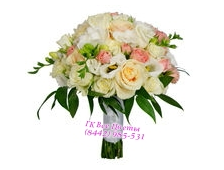 Букет цветов на свадьбу БС-6