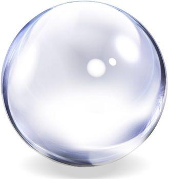 Акриловый шар, Фушиги, фишугу, шарик, прозрачный, fishugu, ball, жонглировать, фокус, прозрачный