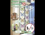 Москитная сетка Magic Mesh Butterfly Меджик Меш с бабочками Оригинал