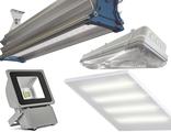 Промышленные, уличные, офисные светодиодные светильники