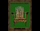 """Кресло для отдыха Adirondack - модель """"ИРИС"""", массив сосны."""