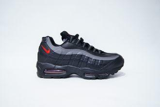 930a2c12 Купить зимние кроссовки Nike air max 95 winter Черно/серые | найк ...