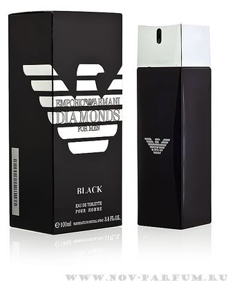 "Giorgio Armani ""Emporio Armani Diamonds Black for Men"", 100 ml"