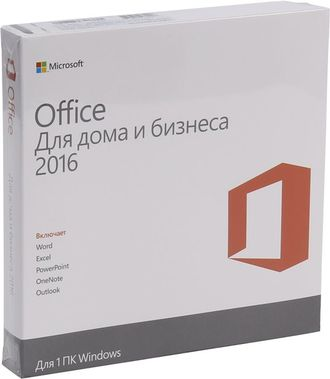 Microsoft Office 2016 Home and Business 32-bit/x64 Russia Only DVD t5d-02292