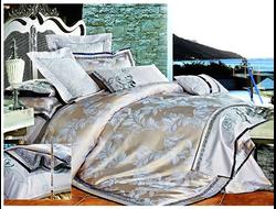 Артикул H029. Элитное постельное белье на 100% хлопковой основе с использованием шелковой нити,декорировано вышивкой