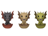 Фигурка Funko POP! Vinyl: ECCC: Game of Thrones: 3PK Drogon, Viserion, & Rhaegal (Exc)