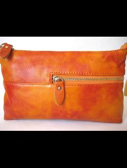 Кожаная сумочка - клатч 2016 , BALINA style