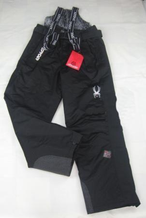 Теплые зимние мембранные брюки Spyder цвет Black