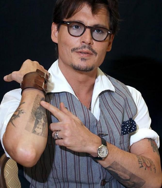 Знаменитые тату на руках