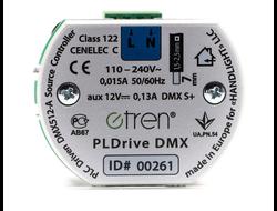 PLDrive DMX малогабаритный драйвер / конвертор преобразующий команды полученные по линии 220V в команды стандарта DMX 512