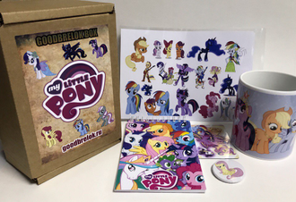 GoodbrelokBox My little pony, Май литтл пони №1
