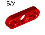 ! Б/У - Technic, Liftarm 1 x 3 Thin, Red (6632 / 4107824) - Б/У